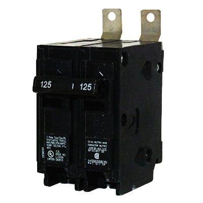 Siemens B2125 2-Pole 125 Amp Molded Case Circuit Breaker