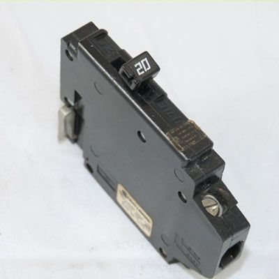 Crouse Hinds MH120L 1-Pole 20 AMP Molded Case Circuit Breaker
