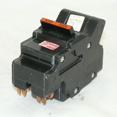 Federal Pacific NA2100 2-Pole 100 Amp Molded Case Circuit Breaker