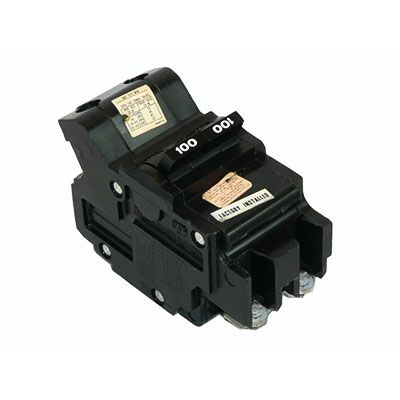 NB2100 Federal Pacific 100 Amp 2 Pole Bolt on Circuit Breaker Nb221100 NB for sale online
