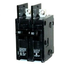 Siemens BQ2B050H 2-Pole 50 Amp Molded Case Circuit Breaker