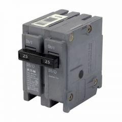 Cutler Hammer BRH225 2-Pole 25 Amp Molded Case Circuit Breaker