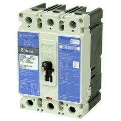 Cutler Hammer ED3125 3-Pole 125 Amp Molded Case Circuit Breaker
