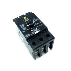 Square D EDB34040 3-Pole 40 Amp Molded Case Circuit Breaker