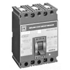 Square D FCL340801021 3-Pole 80 Amp Molded Case Circuit Breaker