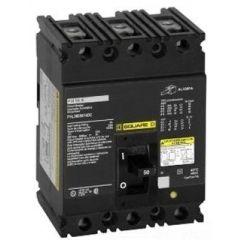 Square D FHL36035 3-Pole 35 Amp Molded Case Circuit Breaker