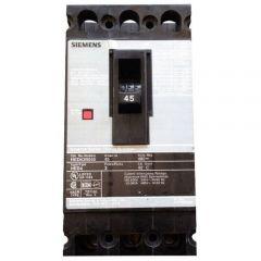 Siemens HED43B045 3-Pole 45 Amp Molded Case Circuit Breaker