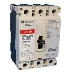 Cutler Hammer HFD3050 3-Pole 50 Amp Molded Case Circuit Breaker
