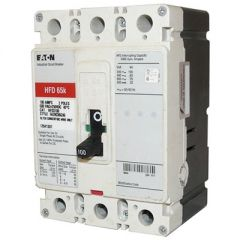 Cutler Hammer HFD3100 3-Pole 100 Amp Molded Case Circuit Breaker