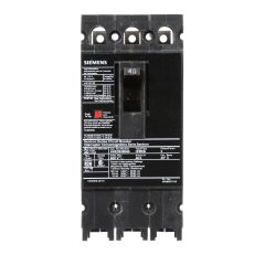 Siemens HHED63B040 3-Pole 40 Amp Molded Case Circuit Breaker