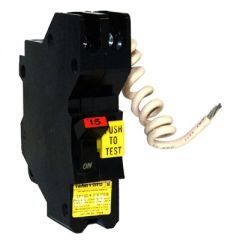 Federal Pacific NAGF15 1-Pole 15 Amp Molded Case Circuit Breaker