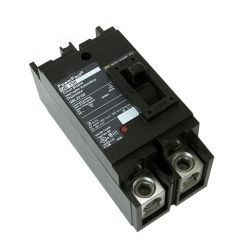 Square D QGL22250 2-Pole 250 Amp Molded Case Circuit Breaker