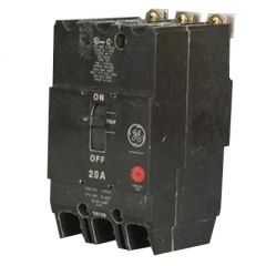 General Electric TEY340 3-Pole 40 Amp Molded Case Circuit Breaker