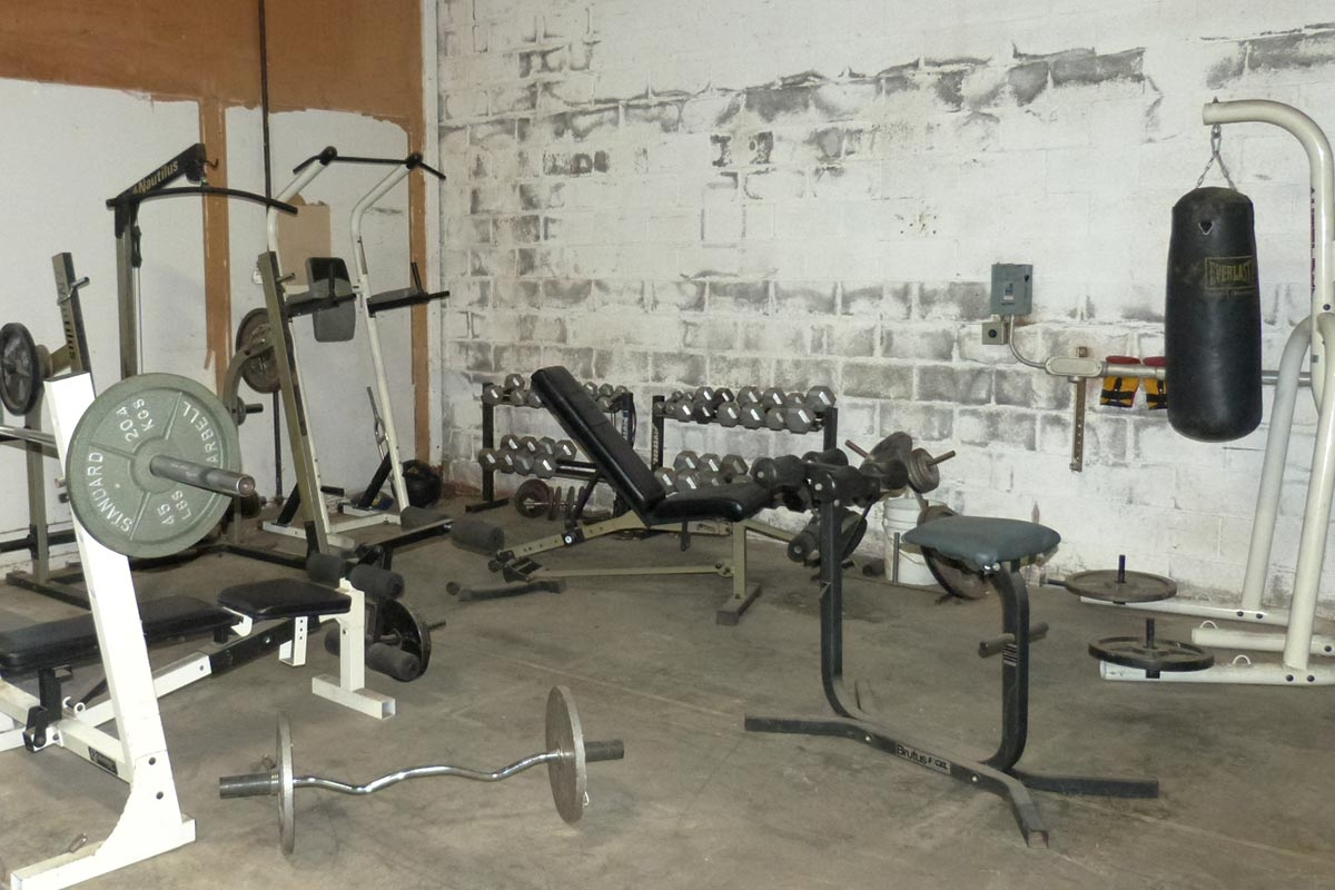 Bay Power Workout Area