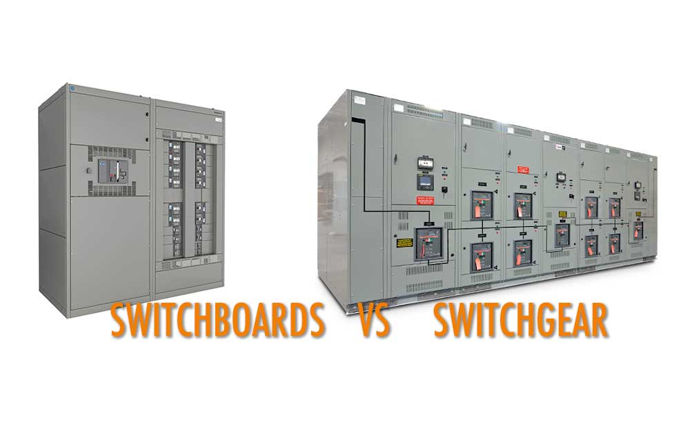 The difference between Switchboards and Switchgear